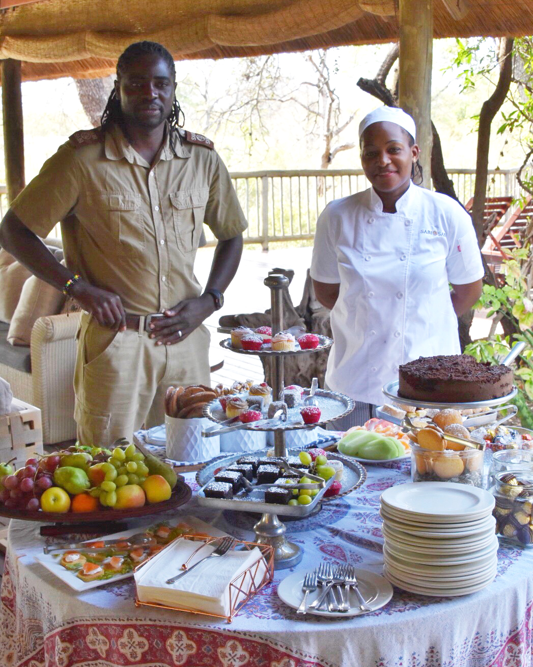 The people are what makes Sabi Sabi Bush Lodge so amazing