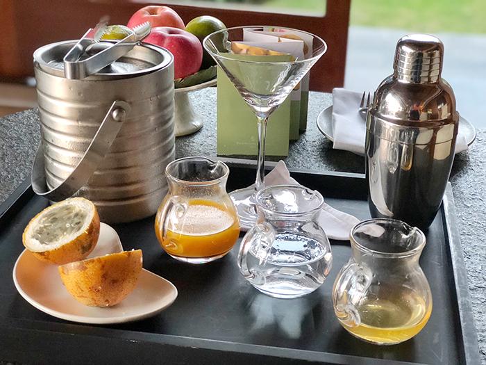 cocktail kit in villa at Four SeasonsResortBaliatJimbaranBay