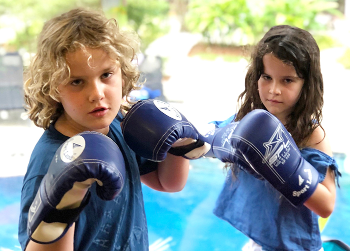Muay Thai with kids