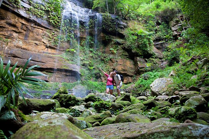 Gap Creek Falls, Watagans
