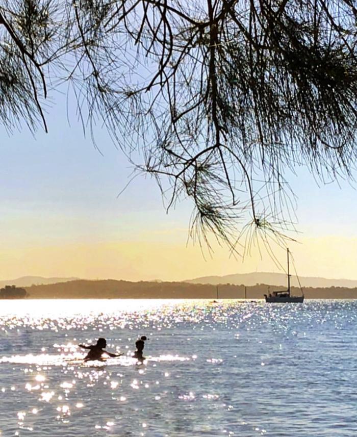 Lake Macquarie sunset Summerland Point