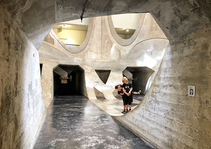 Zeitz Mocaa Cape Town with kids