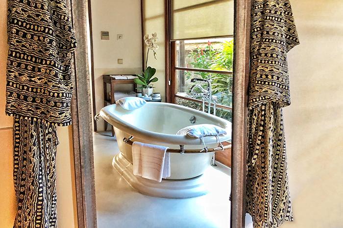 villa bathroom at Four SeasonsResortBaliatJimbaranBay