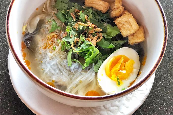 Breakfast noodles at Four SeasonsResortBaliJimbaranBay