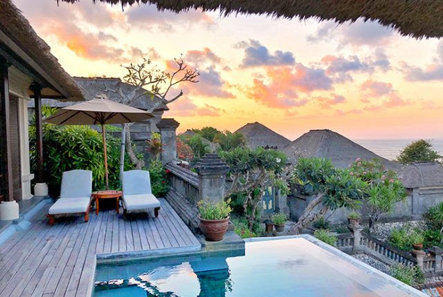 Villa views Four Seasons Resort Bali Jimbaran Bay