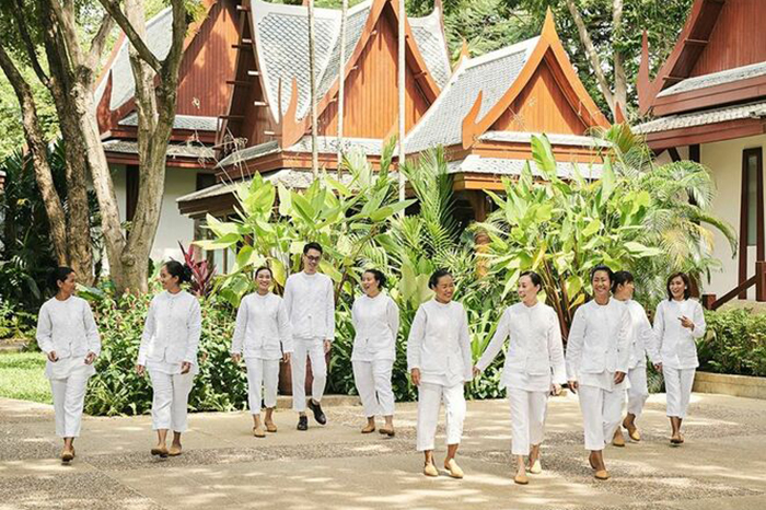 Wellness team at Chiva Som Hua Hin. Image © Chiva Som