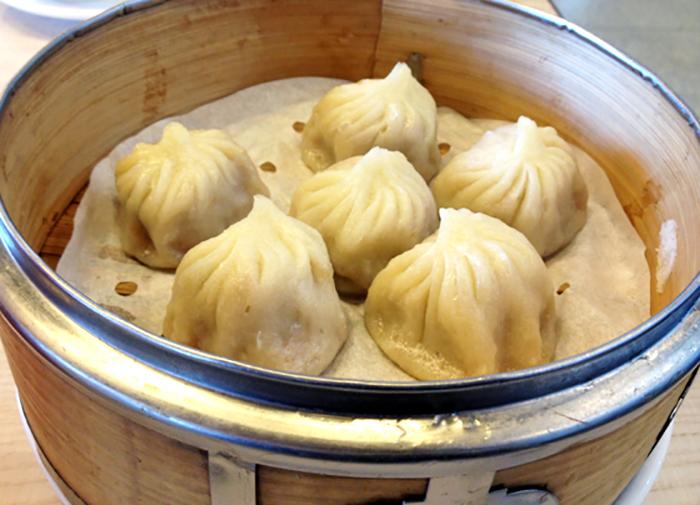 Xiao Long Bao at CBD Dumpling House Canberra