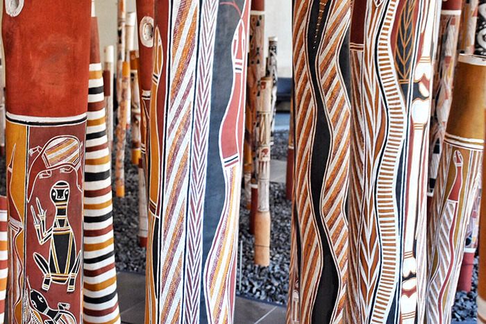 National Gallery of Australia Indigenous totems