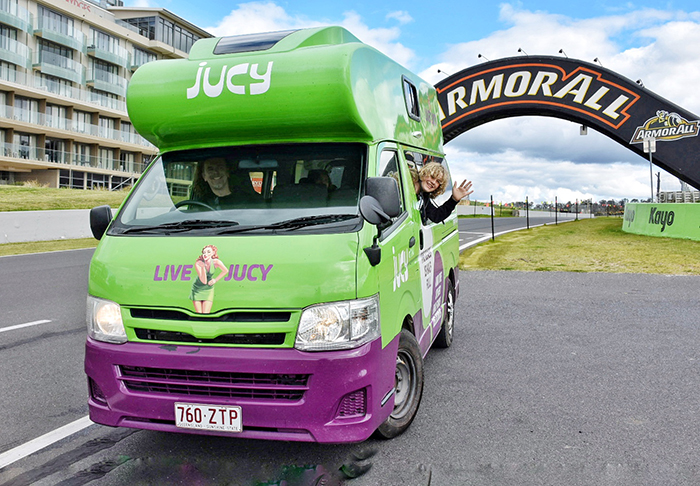 JUCY Combo for the win at Mount Panorama