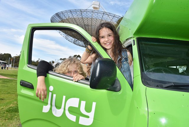 Family Campervan fun in a JUCY Condo