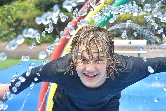 Water park fun at NRMA Sydney Lakeside Holiday Park