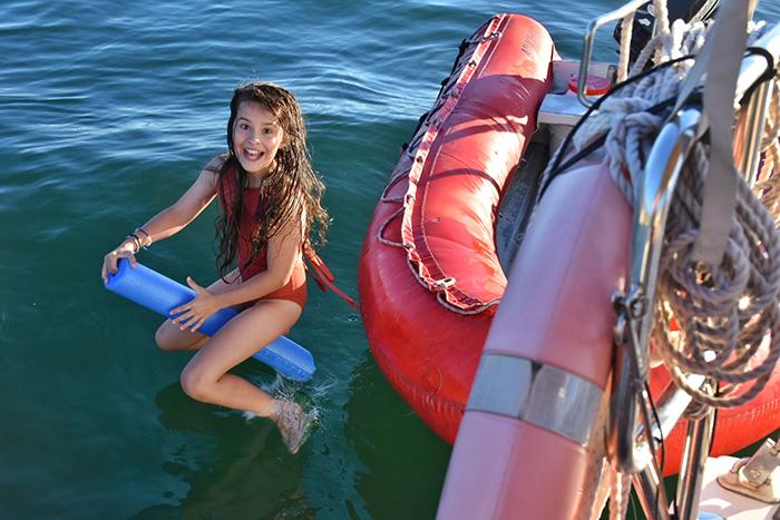 Sydney by Sail B&B by sea family adventure