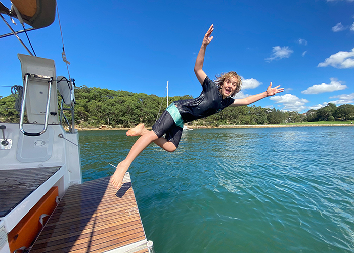 overnight Sydney sailing for families with Sydney by Sail