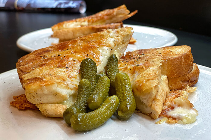 best Bowral Restaurants and cafes: Cheese Etc's three cheese toastie