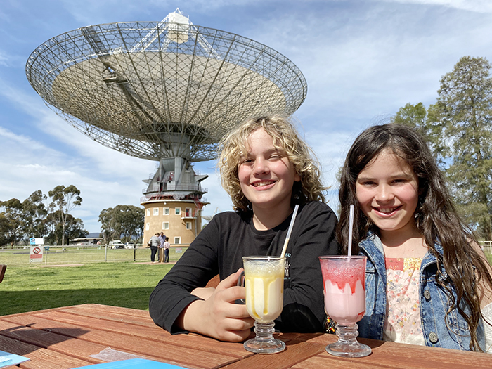 Out of this world milkshakes at The Dish Cafe Parkes