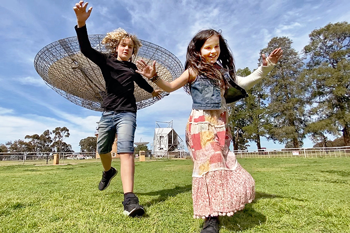 Parkes with kids: Visit The Dish