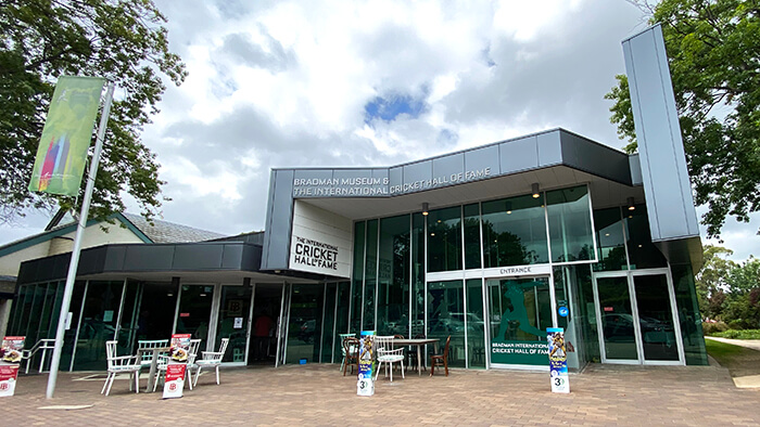 Things to do in Bowral with kids: Bradman Museum and International Cricket Hall of Fame