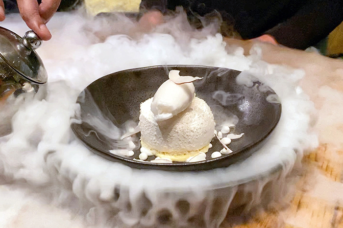 Frozen Pavlova at Mode Kitchen & Bar