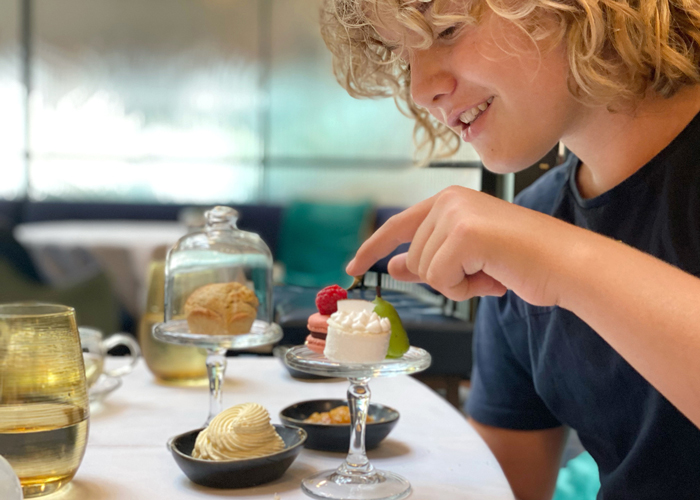 high tea at Mode Kitchen & Bar Four Seasons Sydney