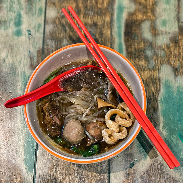 Boat Noodle Soup at @Bangkok Thai restaurant Thai Town