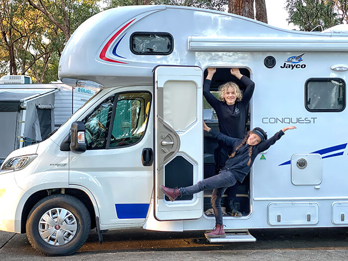 Let's get the party started on our Let's Go Motorhomes holiday