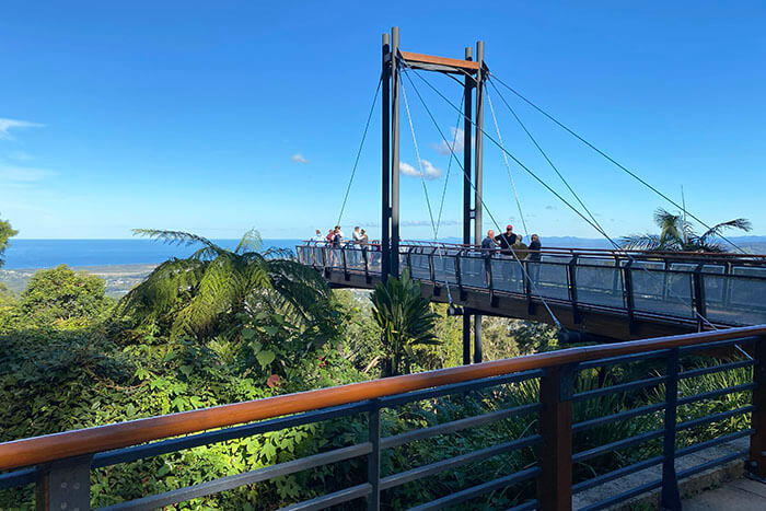 Sealy Lookout Forest Sky Pier