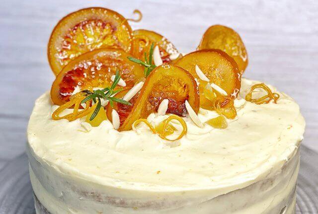 Rooibos Orange & Ginger Cake