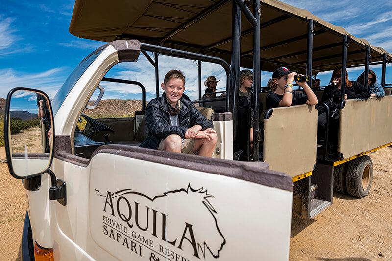 Kid conservationist Hunter Mitchell at Aquila800_